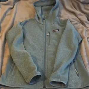 Patagonia performance Better Sweater hoody. Large